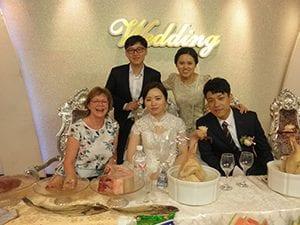 Huwelijk van Sin Eh Hwa