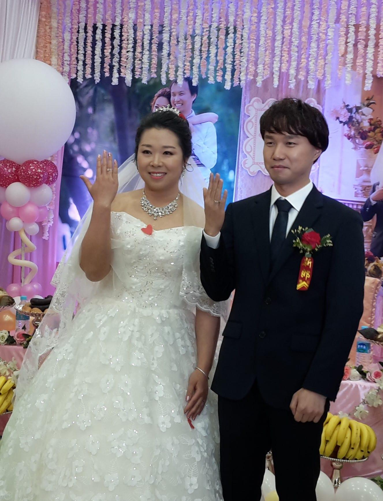 Huwelijk van een van onze oud studenten